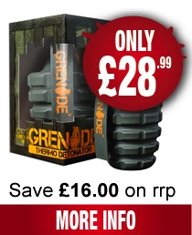 grenade thermo detonator fat burners